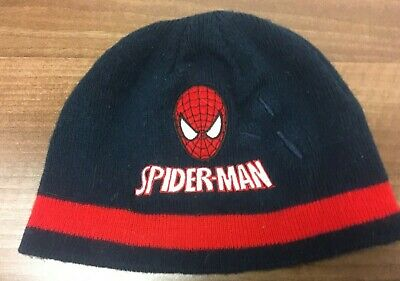 New Official Boys Spiderman Cap Summer Hat Age 6-8 Years 54cm Red//Blue