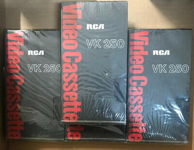 RCA Videocassette VK250 Loy Of 4