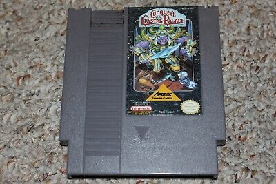 Conquest Of The Crystal Palace (Nintendo Entertainment System NES) Cart Only