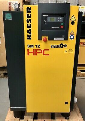 HPC / Kaeser SM12T Rotary Screw Compressor With Dryer! 36Cfm! Immaculate Order!