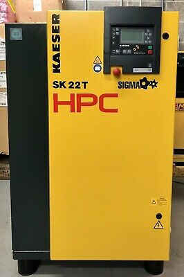 HPC / Kaeser SK22T Rotary Screw Compressor With Dryer! 70Cfm! Immaculate Order!