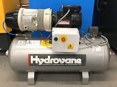 Hydrovane 502 Receiver Mounted Rotary Vane Compressor 2.2Kw! 230V! Single Phase