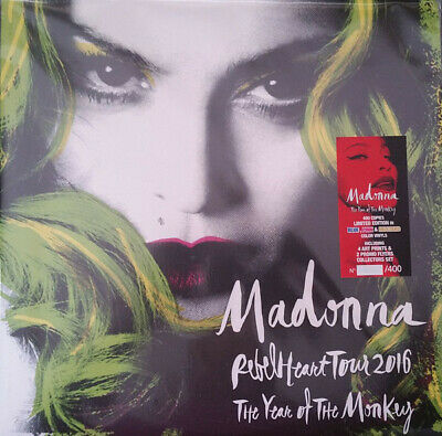 Madonna ‎– The Year Of The Monkey - Rebel Heart Tour 2016 LP