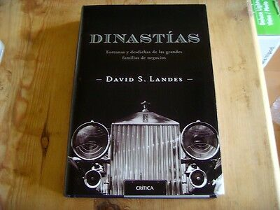 used- Book DYNASTIES - David S. Landes Review