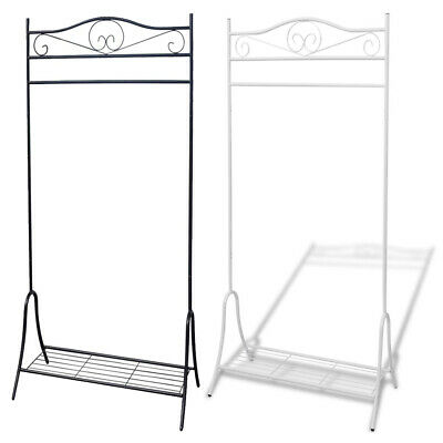Clothes Rail Rack Steel Dress Hanging Display Stand Shoe Rack Storage Shelf