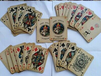 Playing cards PIATNIK, more than 100 years old!