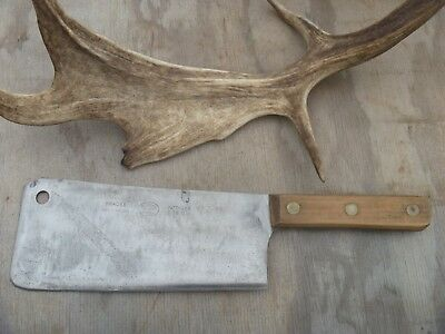 VINTAGE BRADES BUTCHERS MEAT CLEAVER/CHOPPER splitter....nice