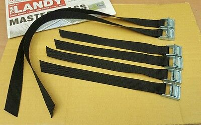 Land Rover MILITARY WOLF/WMIK Pioneer tool fitting straps x 6 New