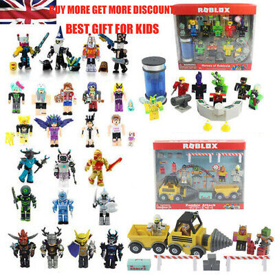 Roblox Operation TNT Playset Zombie Attack Heroes Game Set Toys Kids Boys Gift