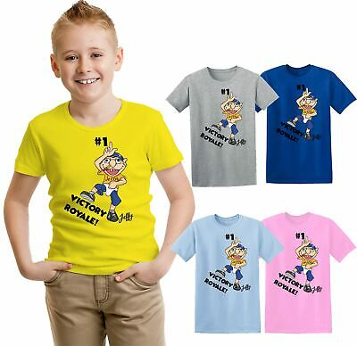 Jeffy Kids T-shirt Victory Winner Video Game Kids T-shirt Gilrs Boy Youtuber Top