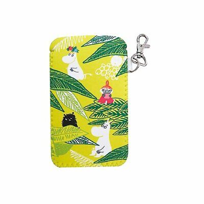 *Moomin soft pencil case jungle green
