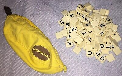 Bananagrams Wild Tiles Game Crossword Family Night Fun Ages 7+ 1-8 Players
