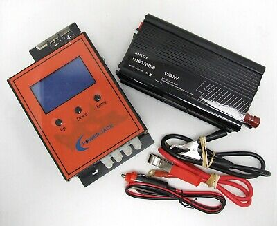 Anself 1500w Solar Power Inverter & Power Jack - DC 12 - AC 230V 1500 Watts