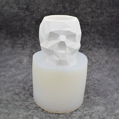 Silicone Floral Pot Mold DIY Resin Casting Pen Candle Holder Vase Mould Tool