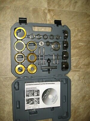 PBT Inc. Camshaft & Crank Shaft Seal Tool Kit, Part No. 70960/ Case/ Instr. Disc
