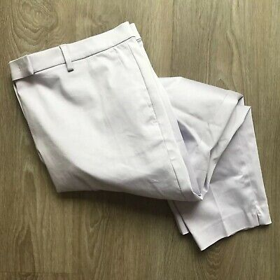 M&S 20 2XL - Pastel Pale Pink Cropped Trousers Capri Fitted Straight Holiday