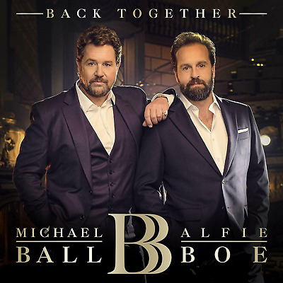 Michael BALL & Alfie BOE Back Together CD UK Edition Greatest Showmen Return