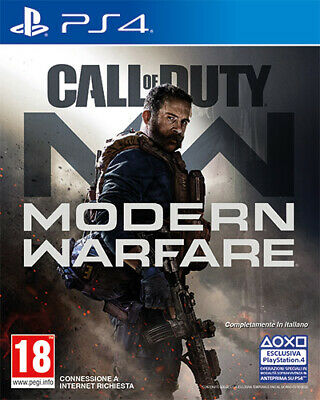 Call Of Duty Modern Warfare PS4 Playstation 4 ACTIVISION BLIZZARD