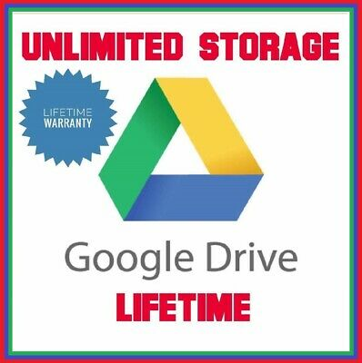 Google Drive Unlimited Lifetime Storage Not Edu Guaranteed Best Deal Fast Servic