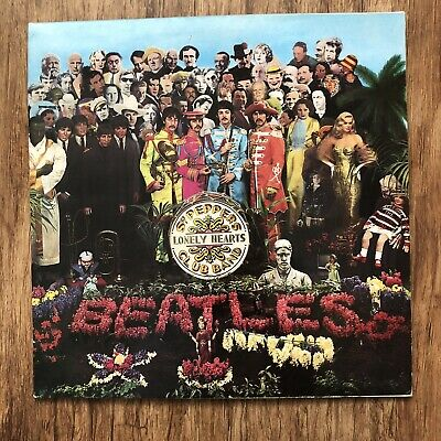 The Beatles Sgt. Peppers Lonely Hearts Club Band Vinyl LP With Inner Gatefold