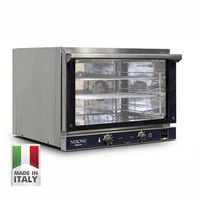 Commercial Convection Oven with 3 Patisserie Racks 600x400 Made in Italy - 15Amp