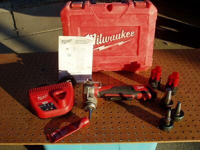 Milwaukee 2432-20 M12 Propex Expansion Tool 3 Heads Decent Condition Ugly Case