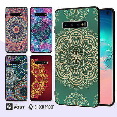 Mandala Slim Bumper Case Cover For Samsung Galaxy S10 e 9 8 Edge Plus Note 045