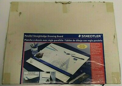 """Staedtler Parallel Straightedge Drawing Board 18"""" x 24"""" 999 1824"""