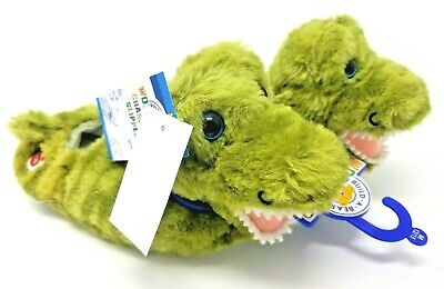 3//4, Build A Bear Workshop Brachiosaurus Kids Slippers 10//11,1//2