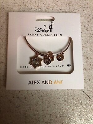 Disney Alex And Ani Star   2019 Christmas Silver Bracelet
