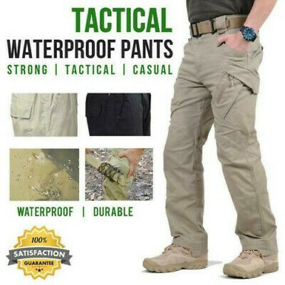 Soldier Tactical Pants Cargo Pants Combat Hiking Outdoor Waterproof Men