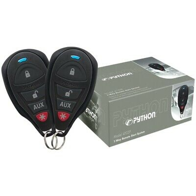 New Python 4105P 4105P 1-Way Remote-Start System with .25-Mile Range & 2 Remotes