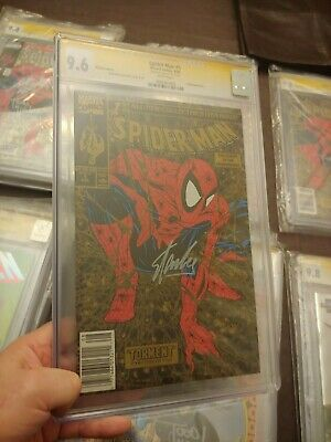Spider-Man #1 Gold Upc Edition Cgc Ss 9.6 Signed By Stan Lee & Todd Mcfarlane