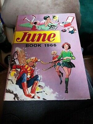 June Book 1966 X VERY GOOD CONDITION FOR AGE X VERY RARE X 3317 X