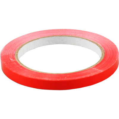 9mm x 66m Strong PVC Tape Catering Seal Bag Food Business Electrical Red