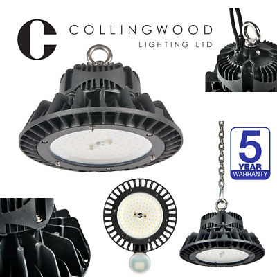 Collingwood LED High Bay UFO Light 100W,150W,200W IP65 Dimmable Springbok Bays