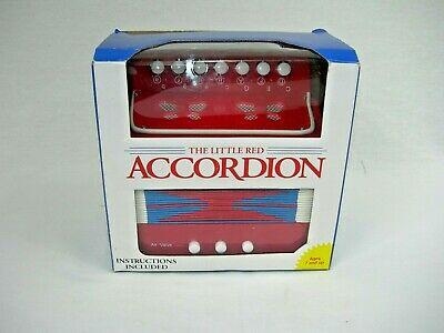 Schylling The Little Red Accordion Child Squeeze Box Muscial instrument