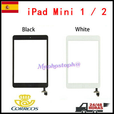 Pantalla Tactil Para iPad Mini 1/2 Táctil Digitalizador Touch Screen Cristal+IC