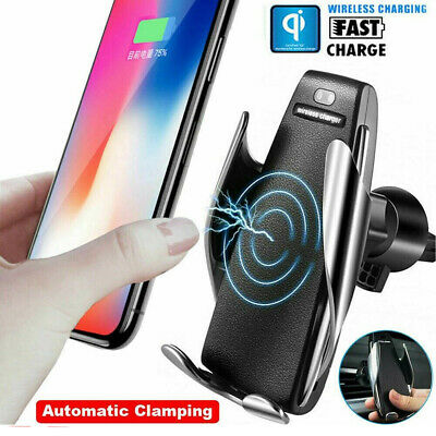 CAR CHARGER WIRELESS Mount Mobile Phone Reload Fast Smart