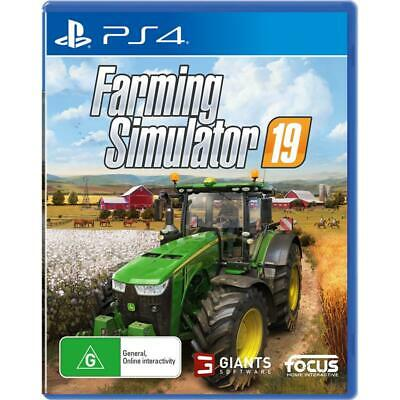 Farming Simulator 19 PlayStation 4 PS4 GAME BRAND NEW FREE POSTAGE Farm Sim