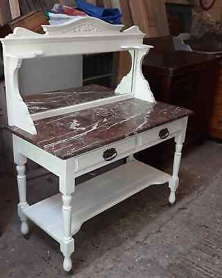 Marble washstand/dressing table