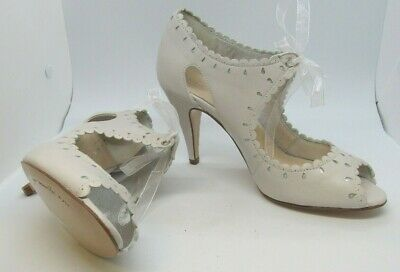 New Rachel Simpson Ivory Bridal Shoes size 4