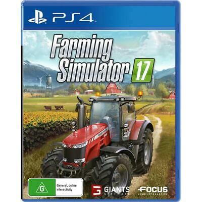 Farming Simulator 17 PlayStation 4 PS4 GAME BRAND NEW FREE POSTAGE Farm Sim
