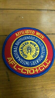 Vintage International Brotherhood Of Electrical Workers Patch **New**