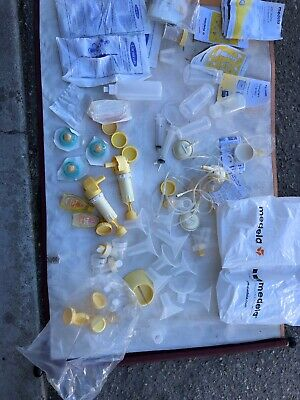 Huge Lot !!! Lansinoh Pre-Sterilized Breastmilk Freezer Storage Bags And More!