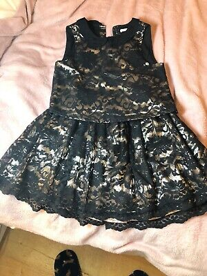 Girls Clothing Marks And Spencer Party Outfit Top & Skirt 7-8yrs VGC