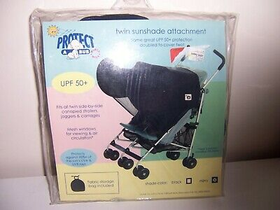 Protect a bub twin sunshade attachment upf 50+ New navy color