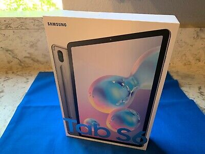 "Brand New Samsung - Galaxy Tab S6 - 10.5"" - 128GB - Mountain Gray"