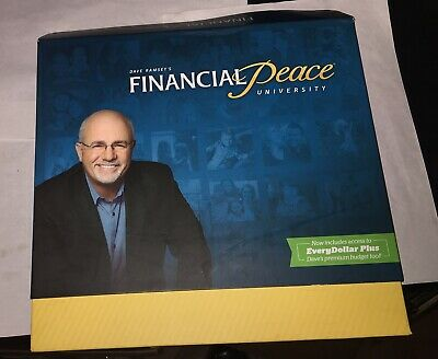 Dave Ramsey's Financial Peace University Membership Kit - NEW Opened Not Used