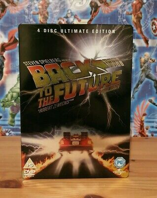 Back To The Future Trilogy Ultimate Edition 4 Disc Steelbook DVD